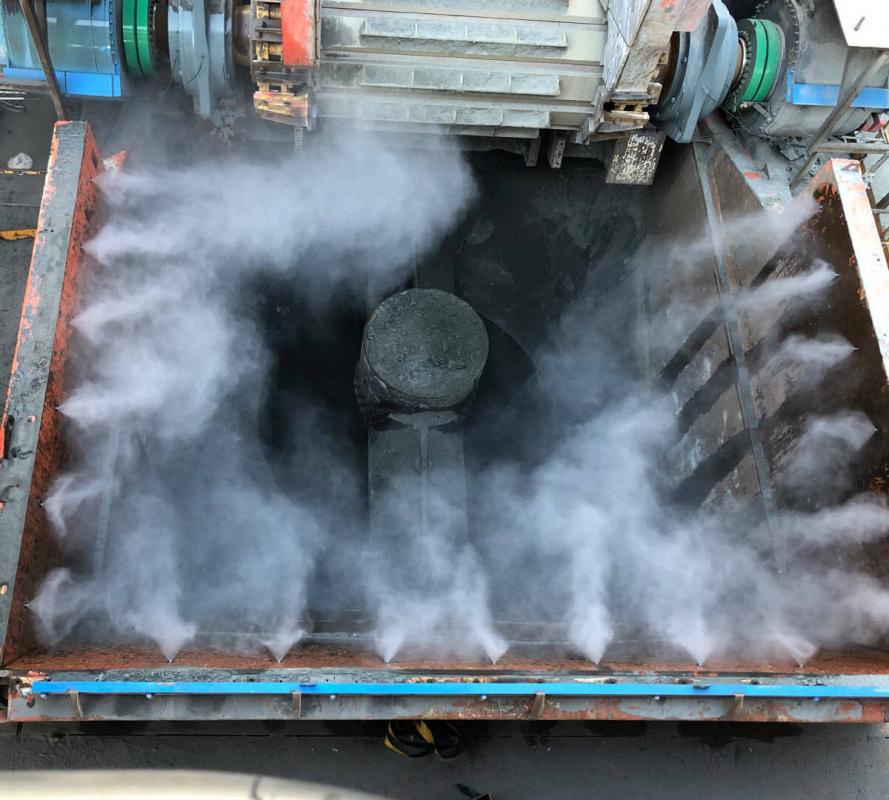 High-pressure system